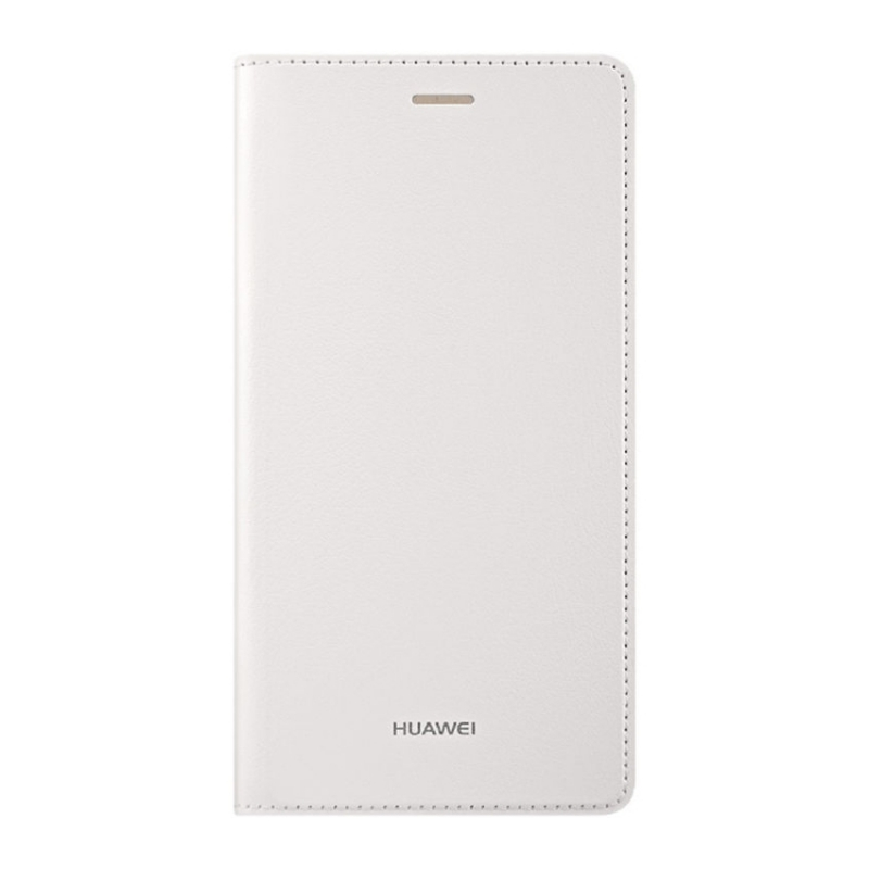Huawei Flip cover pro Huawei P8 Lite bílý