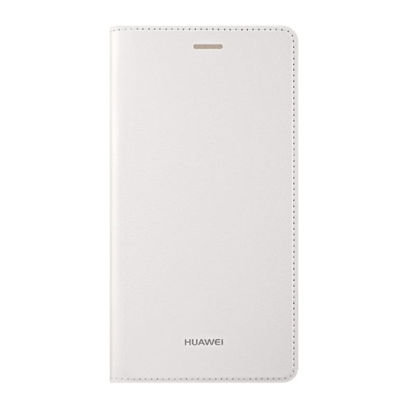 Huawei Flip cover puzdro na P8 Lite biele