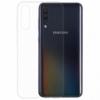 Gumené puzdro na Samsung Galaxy A50 transparentné