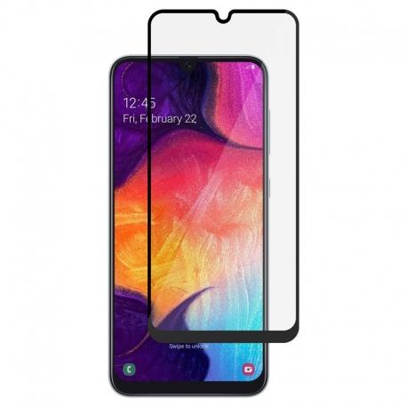 Ochranné sklo na Samsung Galaxy A50 čierne