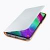 Samsung Flip Cover EF-WA405PW kryt na Galaxy A40 biely