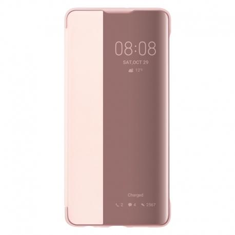 Huawei Smart View Cover na P30 růžový