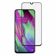 Ochranné sklo na Samsung Galaxy A40 čierne