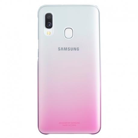 Samsung gradation Cover obal na Galaxy A40 růžový