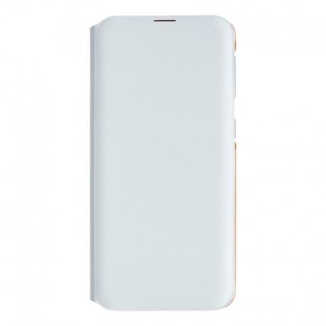 Samsung flipový kryt na Galaxy A20e bílý