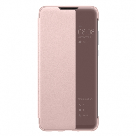 Huawei Smart View Cover na P30 Lite růžový