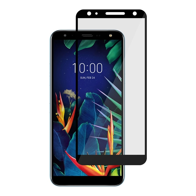 Ochranní sklo na LG K40 černé