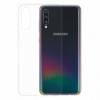 Gumené puzdro na Samsung Galaxy A70 transparentné