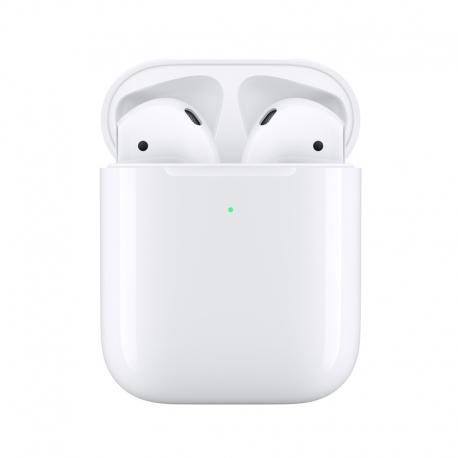 Apple Airpods 2. generace s pouzdrem pro bezdrátové nabíjení