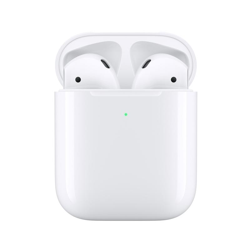 Apple AirPods s bezdrôtovo nabíjateľným puzdrom