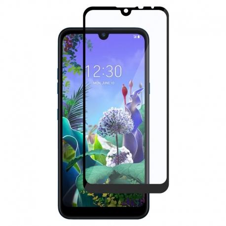 Ochranné sklo na LG Q60 čierne