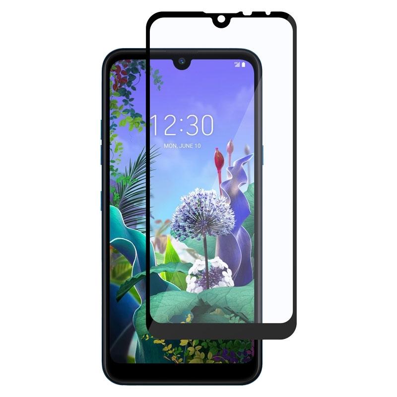 Ochranní sklo pro LG Q60 černé