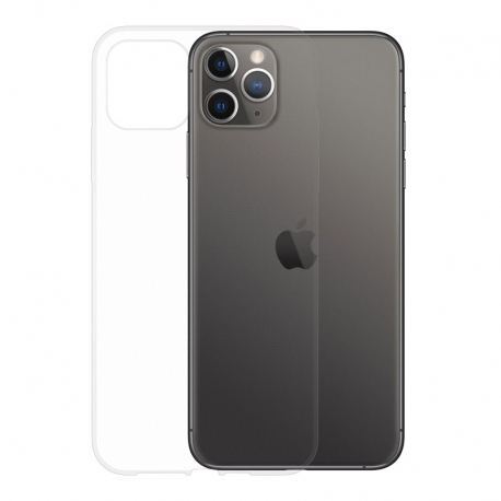 Gumené puzdro na Apple iPhone 11 Pro Max transparentné