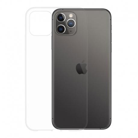 Gumové pouzdro pro Apple iPhone 11 Pro Max transparentní