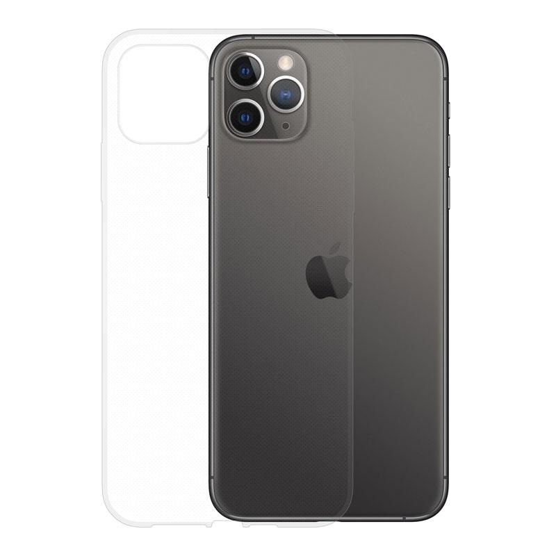 Gumené puzdro na Apple iPhone 11 Pro Max transparentné