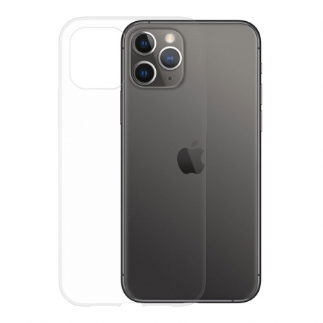 Gumené puzdro na Apple iPhone 11 Pro transparentné