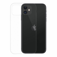 Gumené puzdro na Apple iPhone 11 transparentné