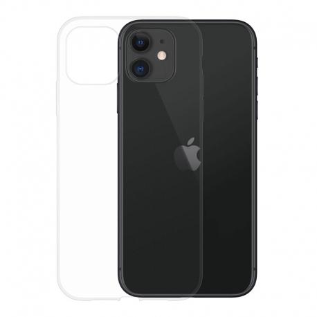 Gumené puzdro na Apple iPhone 11 transparentné