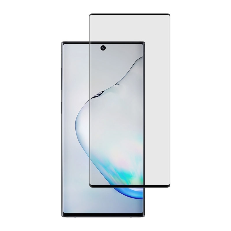 Ochranní sklo CaseFit na Samsung Galaxy Note10 černé