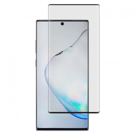 Ochranní sklo CaseFit na Samsung Galaxy Note10 Plus černé