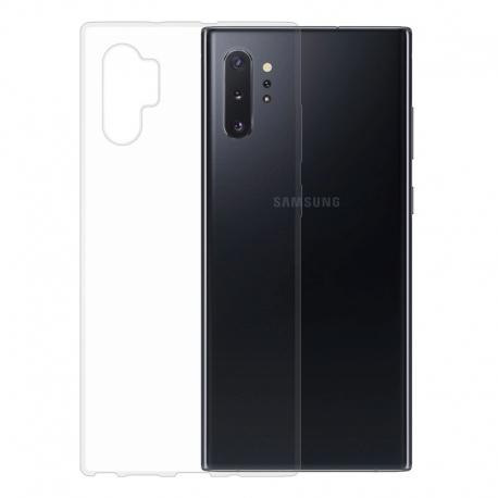 Gumené puzdro na Samsung Galaxy Note10+ transparentné