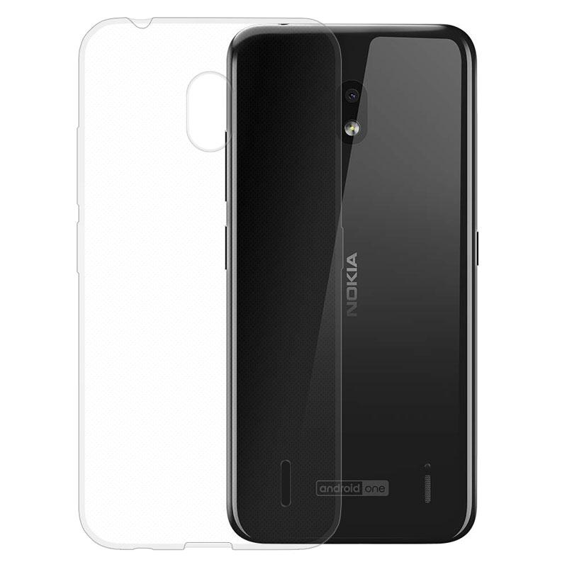 Gumené puzdro na Nokia 2.2 transparentné