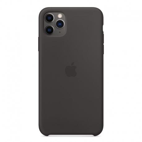 Apple iPhone 11 Pro Max silikónové puzdro čierne