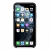 Silikonové pouzdro Apple na iPhone 11 Pro Max černé