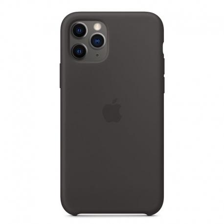 Silikonové pouzdro Apple na iPhone 11 Pro černé