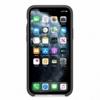 Apple iPhone 11 Pro silikónové puzdro čierne