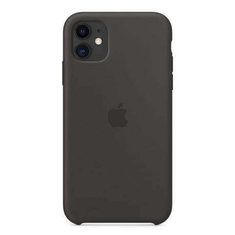 Silikonové pouzdro Apple na iPhone 11 černé
