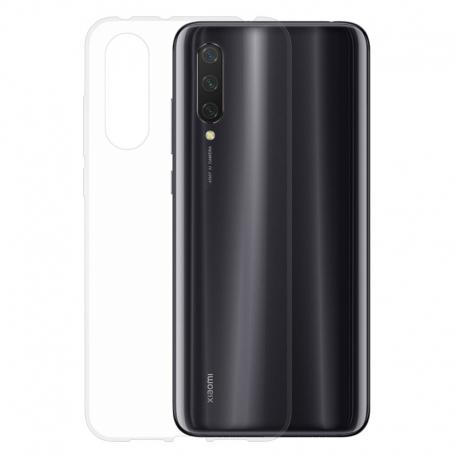 Gumené puzdro na Xiaomi Mi 9 Lite transparentné