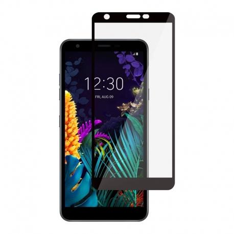 Ochranné sklo na LG K30 čierne