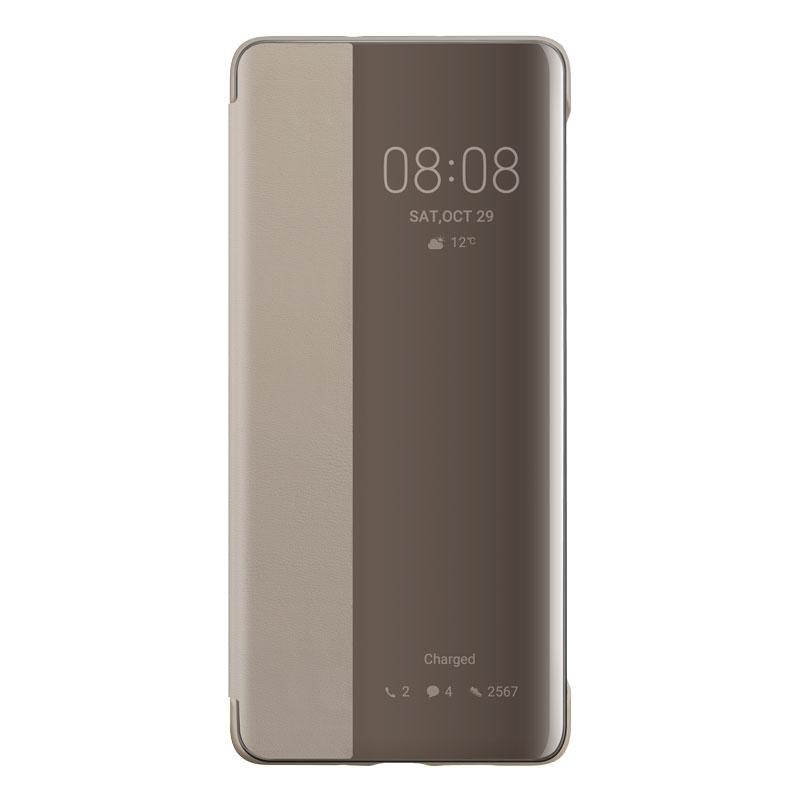 Huawei Smart View cover puzdro na P30 Pro khaki