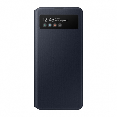 Samsung S-view cover EF-EA515PB na Galaxy A51 čierny