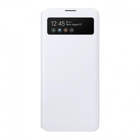 Samsung S-View Cover na Galaxy A51 bílý