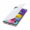 Samsung S-view cover EF-EA515PW na Galaxy A51 biely