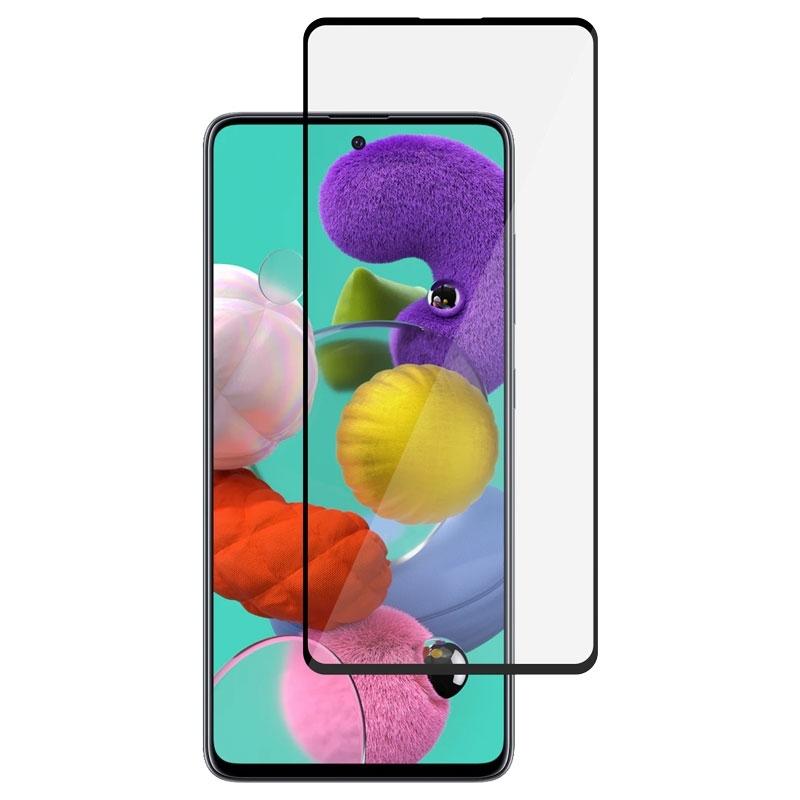 Ochranné sklo na Samsung Galaxy A51 čierne