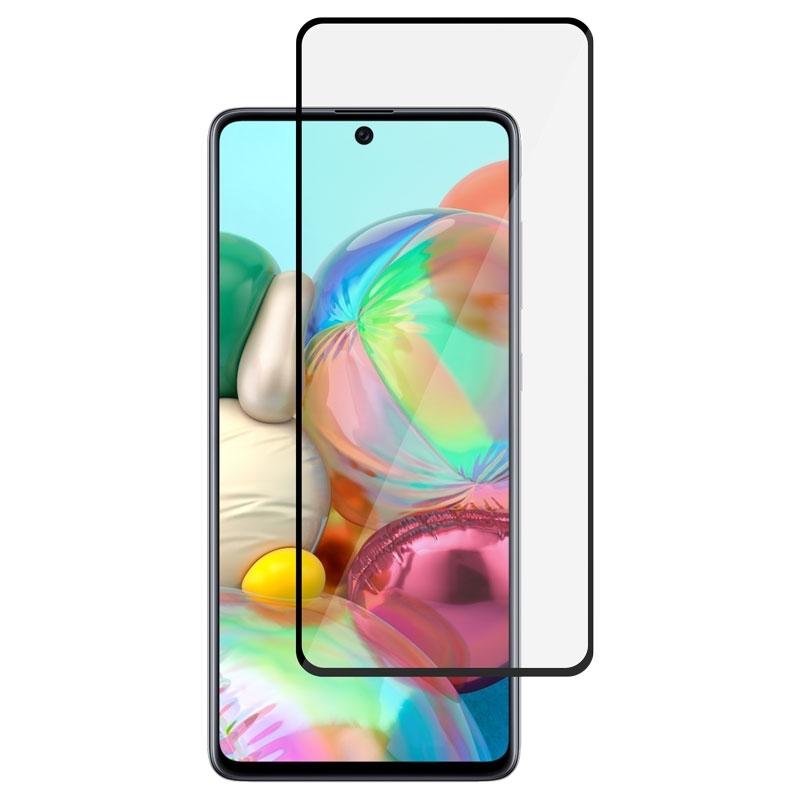 Ochranné sklo na Samsung Galaxy A71 čierne