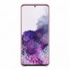Samsung Silicone Cover EF-PG985TP kryt na Galaxy S20+ ružový