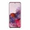 Samsung Silicone Cover EF-PG980TP kryt na Galaxy S20 ružový