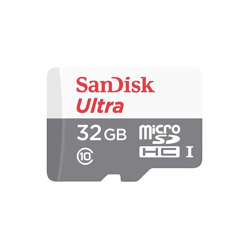 SanDisk micro SDHC karta 32GB class 10 bez adaptéra