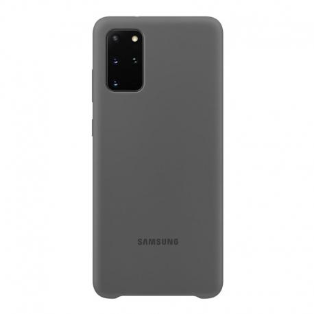 Samsung Silicone Cover pro Galaxy S20 Plus šedý