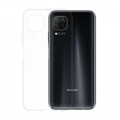 Gumené puzdro na Huawei P40 Lite transparentné
