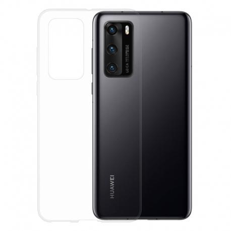 Gumové pouzdro na Huawei P40 transparentní