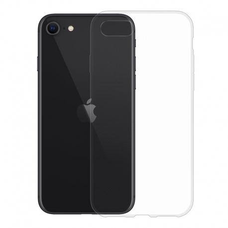 Gumové pouzdro pro Apple iPhone SE (2020) transparentní