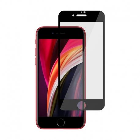 Ochranní sklo pro Apple iPhone SE (2020) černé