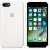 Apple iPhone SE (2020) silikonové pouzdro bílé