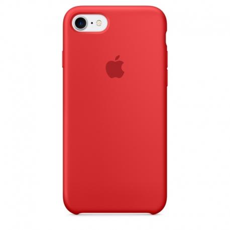 Apple iPhone SE (2020) silikonové pouzdro červené