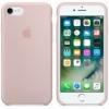 Originálne silikónové puzdro na Apple iPhone SE (2020) ružové